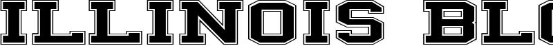 Illinois Block Font