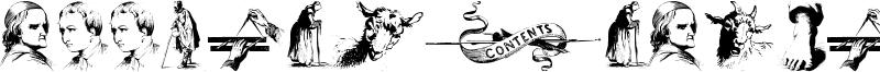 Illustrations TFB Font