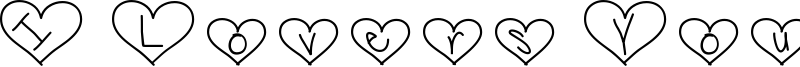 I Lovers You Font
