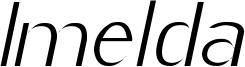 Imelda Light Italic.ttf