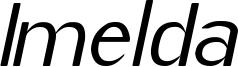 Imelda Medium Italic.ttf