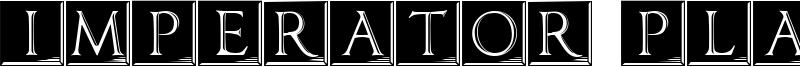 Imperator Plaque Font