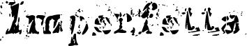 Imperfetta Font