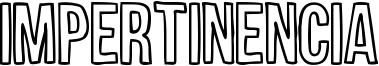 Impertinencia Font