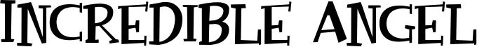 Incredible Angel Font
