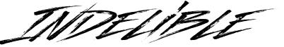 Indelible Font