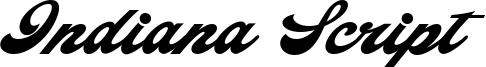 Indiana Script Font