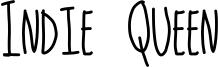 Indie Queen Font