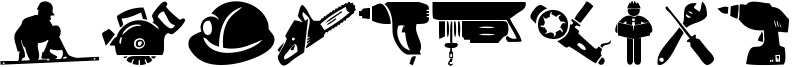 Industrial Worker Font