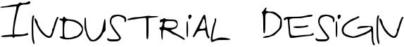 Industrial Design Font