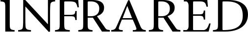 InfraRed Font