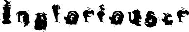 Ingloriouser Font