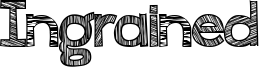 Ingrained Font