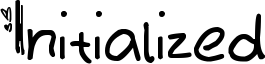 Initialized Font