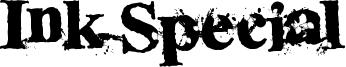 Ink Special Font