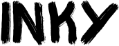 Inky Font