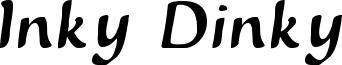 Inky Dinky Font