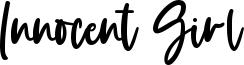 Innocent Girl Font