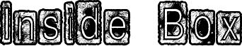 Inside Box Font