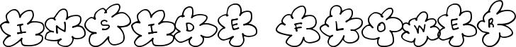 Inside Flower Font