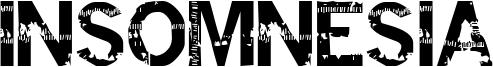 Insomnesia Font