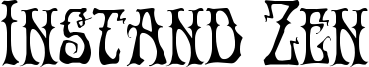 Instand Zen Font