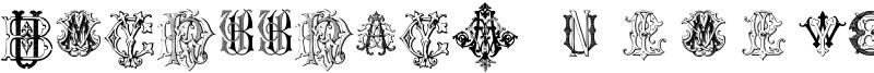 Intellecta Monograms Font