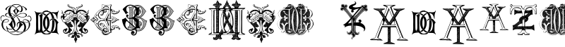 Intellecta Monograms Random Samples Two Font