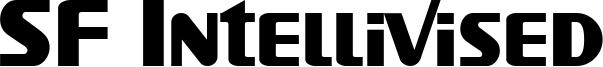 SF Intellivised Font