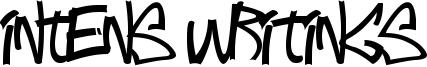 Intens Writings Font