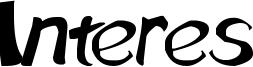 Interes Font