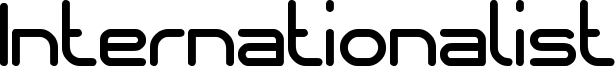 Internationalist Font