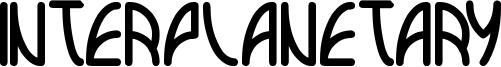 interplanetary Font