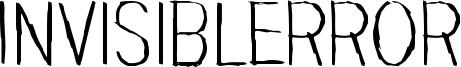 Invisiblerror Font