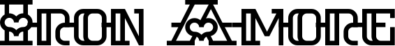 Iron Amore Font