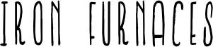 Iron Furnaces Font