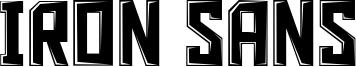 Iron Sans Font