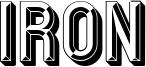 Iron Font
