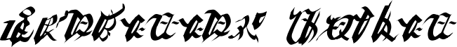 Ivalician Gothic Font