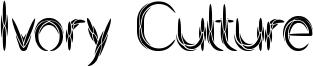 Ivory Culture Font