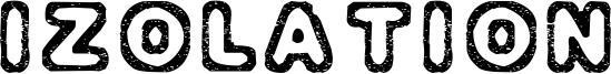 Izolation Font