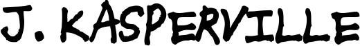 J. Kasperville Font