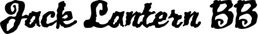 Jack Lantern BB Font