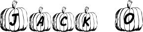 Jack O Font