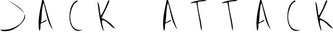 Jack Attack Font