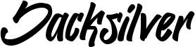 Jacksilver Font
