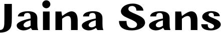 Jaina Sans Font