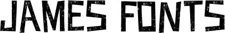 James Fonts Font