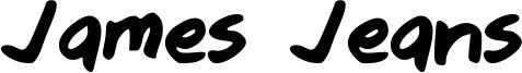 James Jeans Font