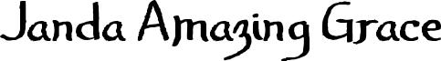 Janda Amazing Grace Font